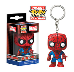 LLAVERO POP SPIDERMAN 4 CM