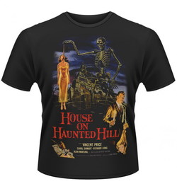 HOUSE ON HAUNTED HILL T-SHIRT XXL
