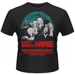 LUST FOR A VAMPIRE T-SHIRT XXL