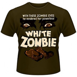 WHITE ZOMBIE T-SHIRT XL