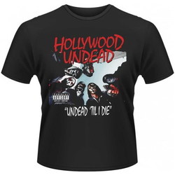 CAMISETA HOLLYWOOD UNDEAD - TIL I DIE XXL