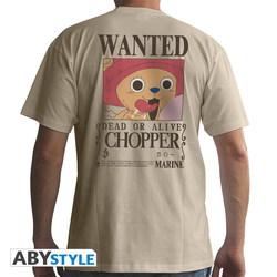 CAMISETA ONE PIECE WANTED CHOPPER M
