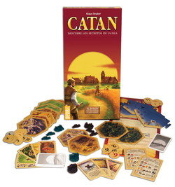 LOS COLONOS DE CATAN EXPANSION PARA 5-6 JUGADORES
