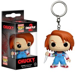 CHILD´S PLAY POCKET POP! VINYL KEYCHAIN CHUCKY 4 CM.