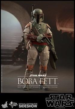FIGURA HOTTOYS STAR WARS BOBA FETT 30 CM