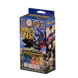 DC COMICS DICE MASTERS - WORLD'S FINEST - STARTER SET