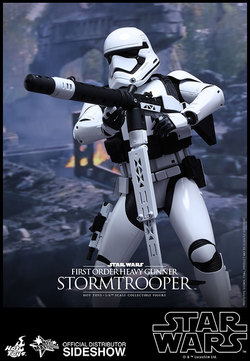 STAR WARS EPISODE VII HOT TOYS FIGURE - HEAVY TROOPER 30CM