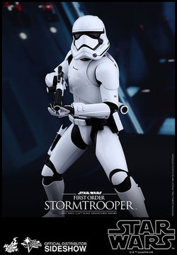 STAR WARS EPISODE VII HOT TOYS FIGURE - STORMTROOPER 30CM