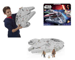MILLENNIUM FALCON FIGURE STAR WARS EPISODE VII