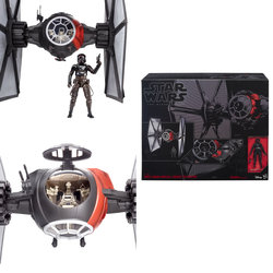 STAR WARSTIE FIGHTER DELUXE BLACK SERIES EPISODIO VII