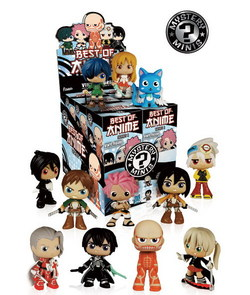DISPLAY MINI FIGURAS BEST OF ANIME SERIES 1