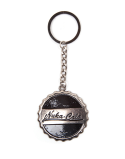 FALLOUT 4 - NUKA COLA BOTTLE CAP KEYCHAIN