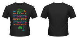 CAMISETA SPACE INVADERS COLOURS XXL