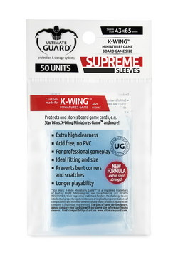 ULTIMATE GUARD SUPREME SLEEVES FOR BOARD GAME CARDS X-WING™ MINI