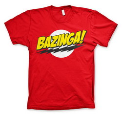CAMISETA BIG BANG THEORY BAZINGA XXL