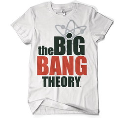 CAMISETA BIG BANG THEORY LOGO XXL