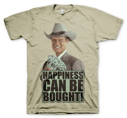 DALLAS - HAPPINESS CAN BE BOUGHT T-SHIRT (KHAKI)  XL