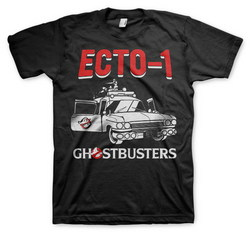 GHOSTBUSTERS - ECTO-1 T-SHIRT (BLACK) M