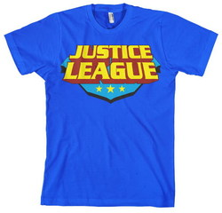 CAMISETA JUSTICE LEAGUE LOGO XXL