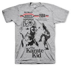 THE KARATE KID T-SHIRT (H.GREY) XXL