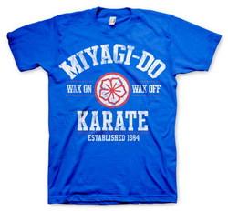 MIYAGI-DO KARATE 1984 T-SHIRT (BLUE) XXL