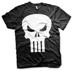 CAMISETA PUNISHER LOGO XXL