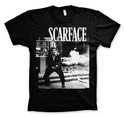 SCARFACE - WANNA PLAY ROUGH T-SHIRT (BLACK) M