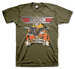 CAMISETA TOP GUN FLYING EAGLE XL