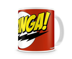 BAZINGA SUPER LOGO COFFEE MUG