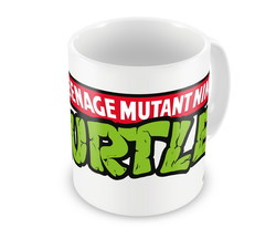 TMNT LOGO COFFEE MUG