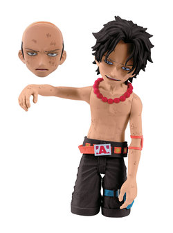 ONE PIECE CRY HEART VOL. 3 FIGURES 10 CM ACE BR SET