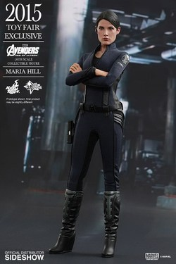 FIGURA HOTTOYS MARVEL MARIA HILL 29 CM