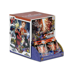 MARVEL DICE MASTERS - CIVIL WAR GRAVITY FEED - EN
