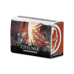 MARVEL DICE MASTERS CIVIL WAR - TEAM BOX