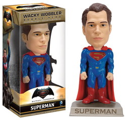 WACKY WOBBLER BOBBLEHEAD: BATMAN VS SUPERMAN - SUPERMAN