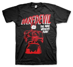 CAMISETA DAREDEVIL WITHOUT FEAR XXL