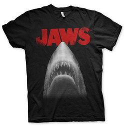 JAWS POSTER T-SHIRT (BLACK) XXL