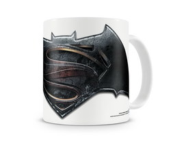 TAZA BATMAN VS SUPERMAN LOGO