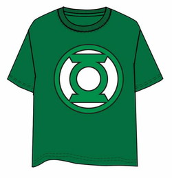 CAMISETA GREEN LANTERN LOGO XL