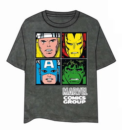 MARVEL COMICS GROUP CARAS T-SHIRT S