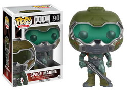 DOOM POP! GAMES VINYL FIGURE SPACE MARINE 9 CM