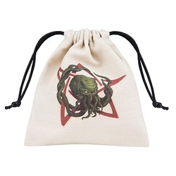 QW CALL OF CTHULHU DICE BAG COLOUR
