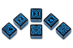 QW SHADOWRUN SPELLCASTER DICE SET (6)