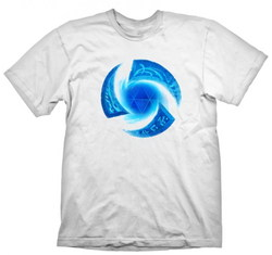 HEROES OF THE STORM T-SHIRT SYMBOL WHITE XXL