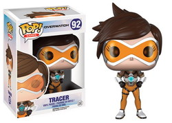 FIGURA POP OVERWATCH: TRACER