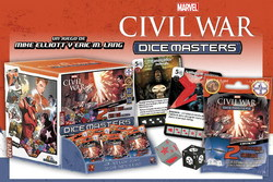 MARVEL DICE MASTERS CIVIL WAR GR FEED (90) *ESP/ITA*