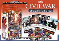 STANDARD BOX - MARVEL DICE MASTERS CIVIL WAR - STARTER *SP/ITA*