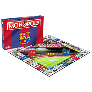 FC BARCELONA 2ND EDITION MONOPOLY (SPANISH / CATALAN)