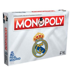 REAL MADRID MONOPOLY (SPANISH / ENGLISH)
