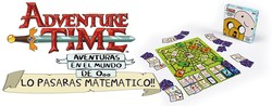 ADVENTURE TIME BOARD GAME (SPANISH)